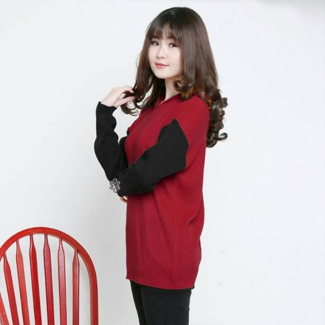 Red-black (Maroon) Sweatshirt