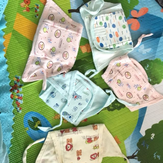 Reusable diapers not used but washed