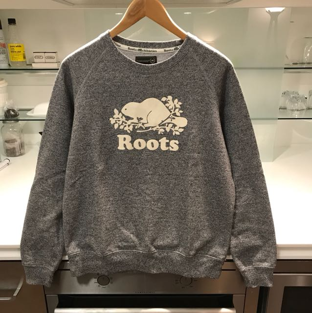 Roots Athletics Salt & Pepper Sweatshirt