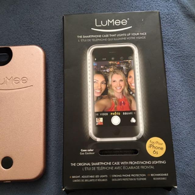 Rose gold Lumee case