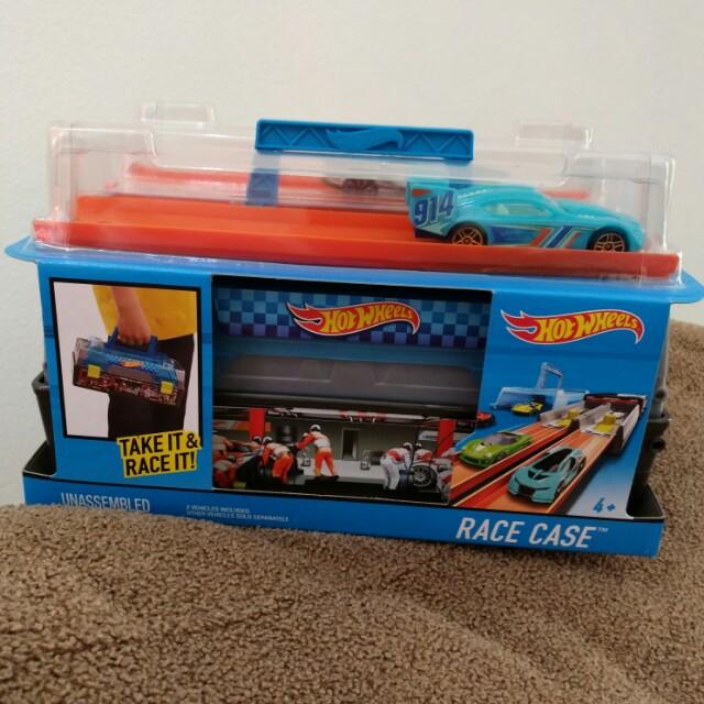 Sale promo hotwheels race case set murah