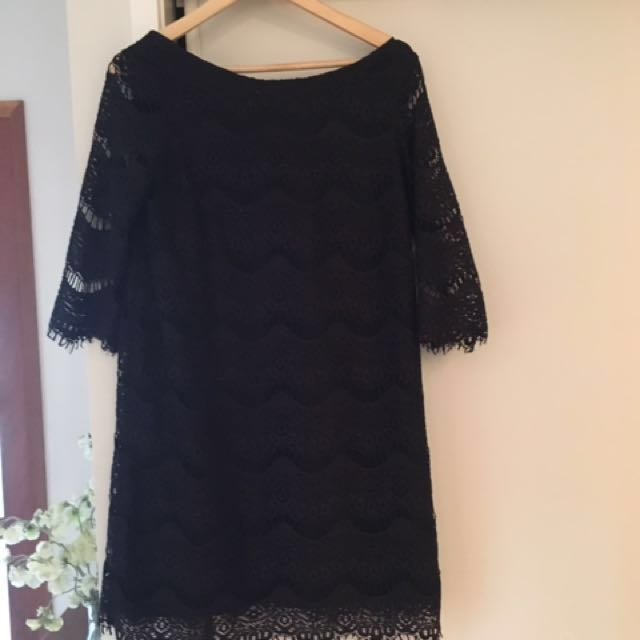 Sale/Swap: Zara Lace evening dress