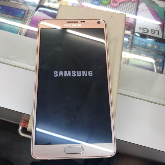 Samsung note4-32g(gold)