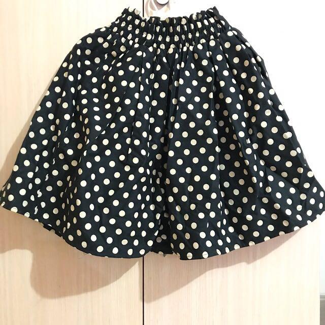 Skirt polkadot