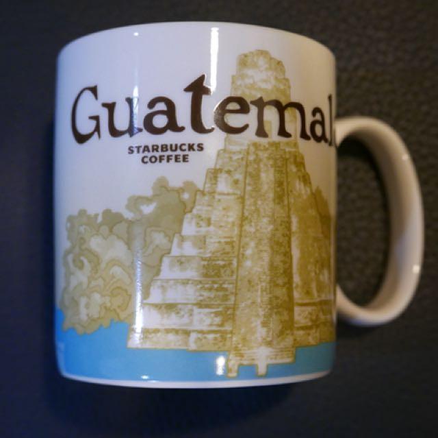【一組不分售】Starbucks city mug 瓜地馬拉 安提瓜 Guatemala Antigua 城市杯各一
