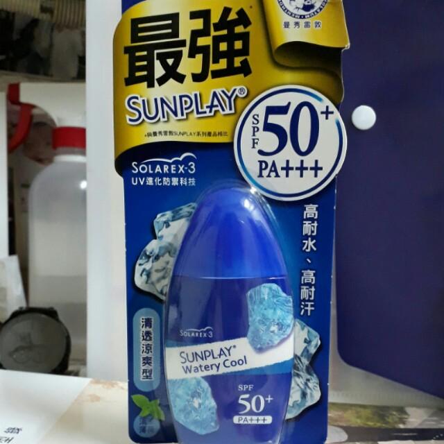 Sunplay曼秀雷敦防曬乳液 清透涼爽型
