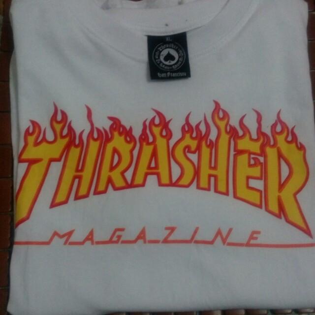 Thrasher短袖 火焰