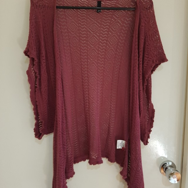 Tie up cardigan cover up