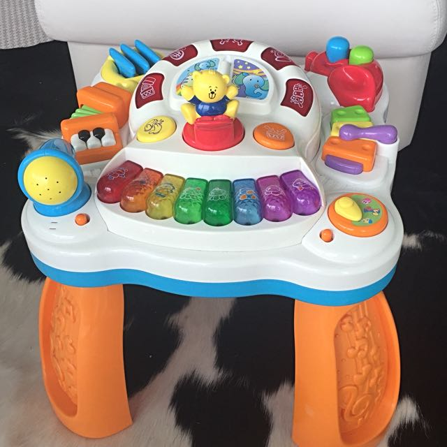 Toy R Us Bruin Musical Table Activity Table Babies Kids