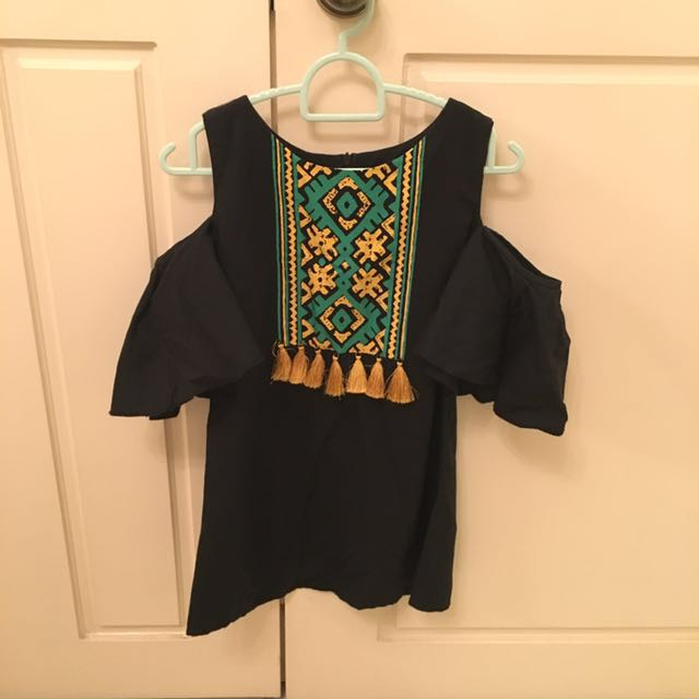 Tribal Tassel Top