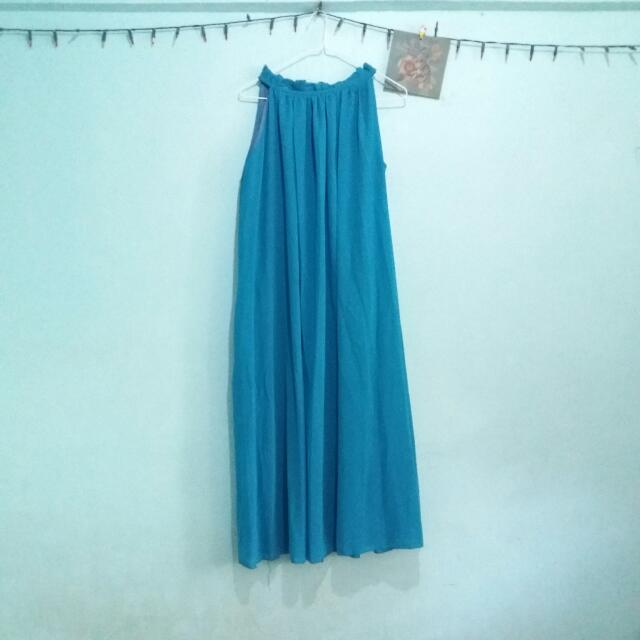 FREE SF Turquoise Maxi Dress