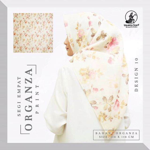 Umama Organza Print Design 10 Olshop Fashion Olshop Muslim Di