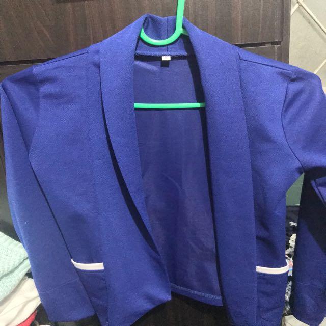 Unbranded Blue Blazer