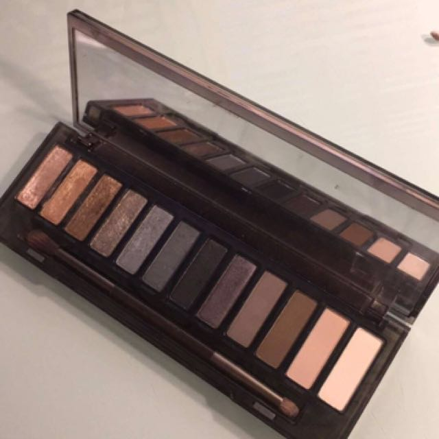 Urban Decay - Naked Palette (smokey)