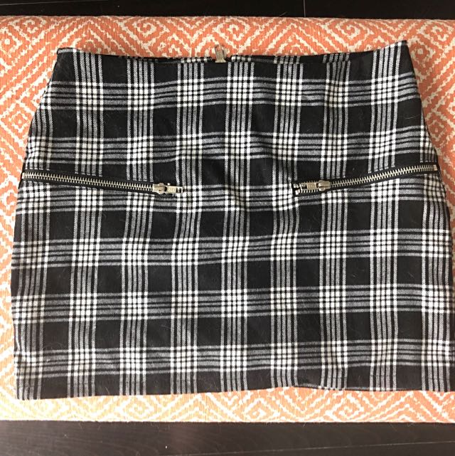 Urban Outfitters Checkered Mini Skirt