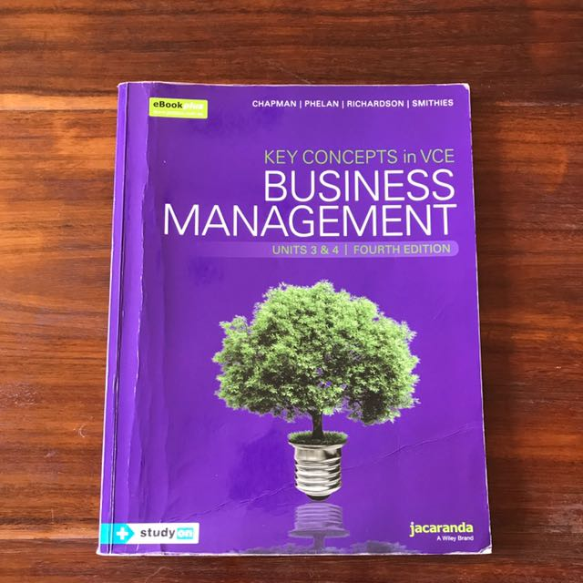 VCE business management 3&4