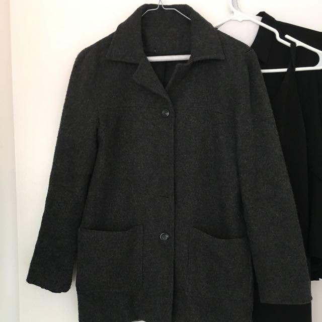 Vintage Grey Coat