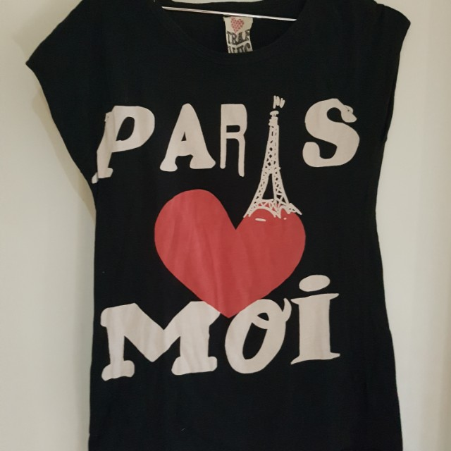 Vintage paris top
