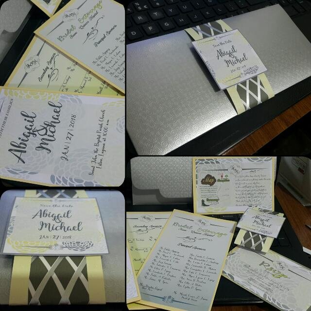 Wedding Invitations and More!