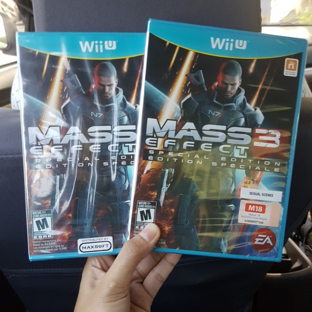 Wii u Mass Effect 3 Game