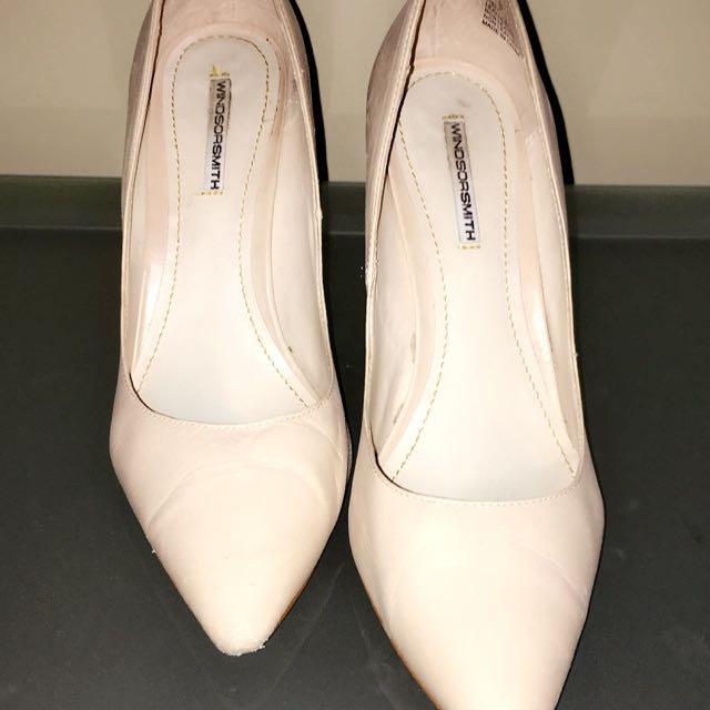 03a3856e29 Women's Nude Windsor Smith Heels size 8, Women's Fashion, Shoes on ...