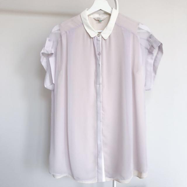 (Worn) Lily Lilac Shirt