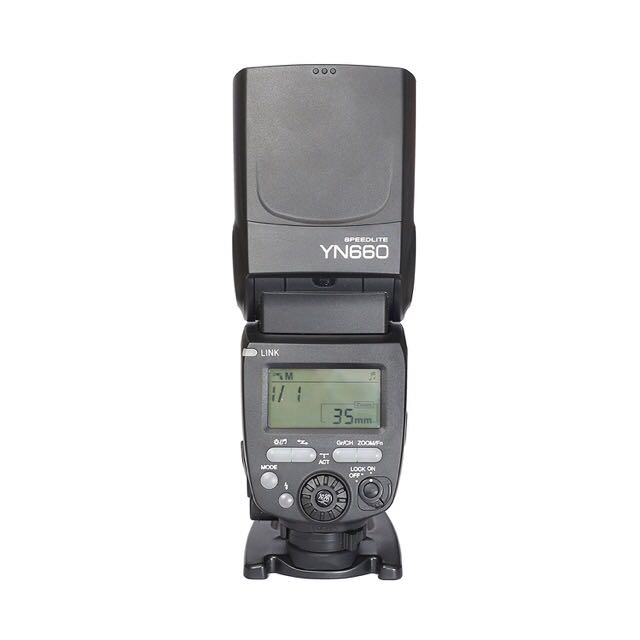Yongnuo YN660 Manual Flash with HSS Brand New