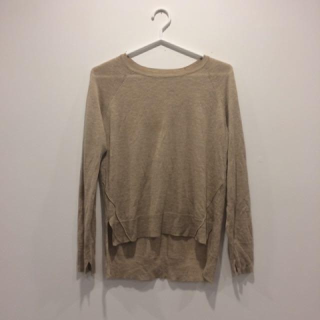Zara basic knit sweater
