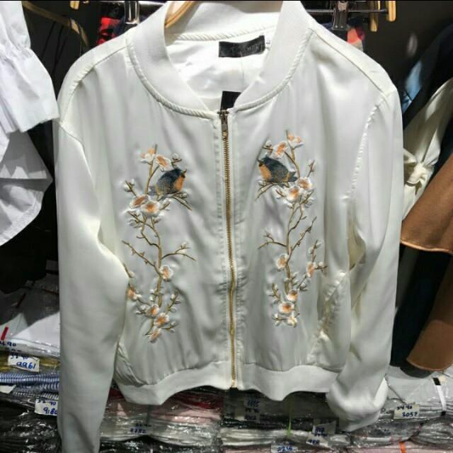Zara Embroidered Jacket
