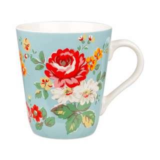 Cath Kidston x Churchill China Kentish Rose Blue Stanley Mug #Ramadan50