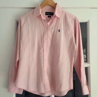 POLO Ralph Lauren pink shirt