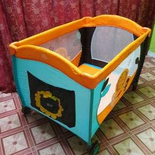 Playpen 1 Layer My Dear Lion Orange