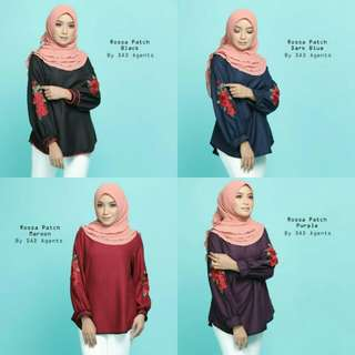 ROSSA PATCH BLOUSE