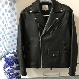 Beauty & Youth United Arrows Biker Leather Jacket 羊皮皮褸