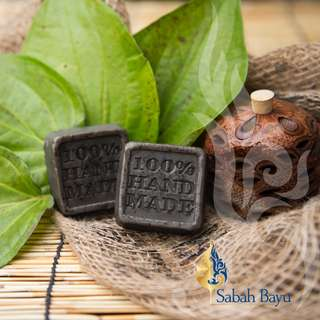 100% Handmade Soap: Antibacterial Forest Betel Leaf Soap (Sirih) for Most Skin Types