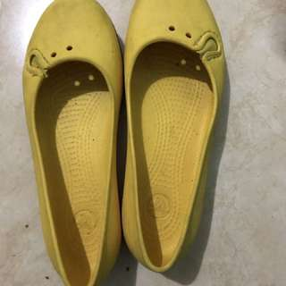 Crocs yellow original size 36 / W5