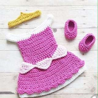 Made to order crochet costumes