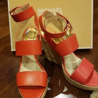 LIKE NEW MK Wedge Sandals size 6