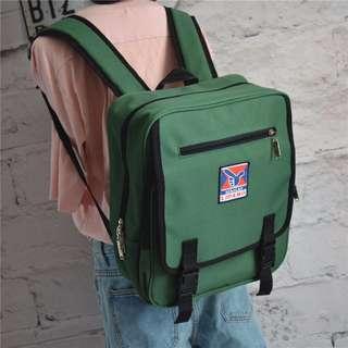【嫻仔売】正方形雙肩後背包