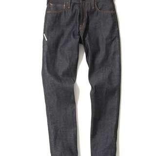 Denim by Vanquish & Fragment Rigid Tapered Denim Jeans