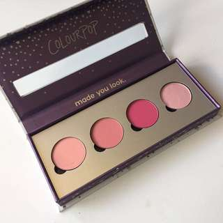 Colourpop Belle Of The Ball Eyeshadow Palette