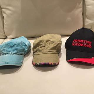 $5 each Johnson Raymond and cute hats