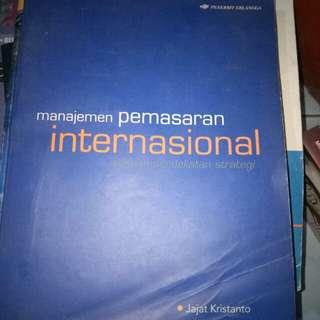 Manajemen Pemasaran Internasional