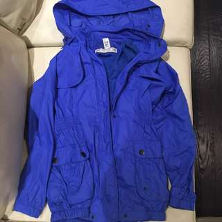 Zara blue windbreaker