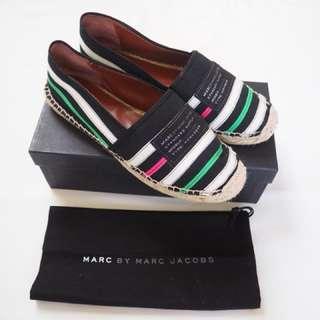 Marc Jacobs stripe espadrilles, size 9