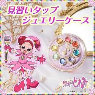 mina女孩日本代購(預購品) 小魔女doremi  鏡子 珠寶盒 飾品盒