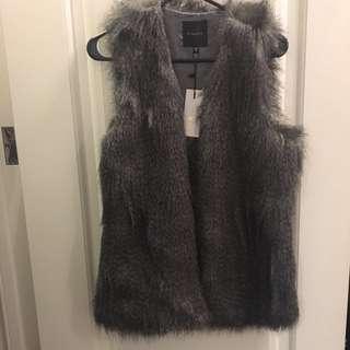 Dynamite- Faux Fur Vest