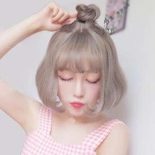 ✨[Po] Ulzzang/Harajuku Short hair wig