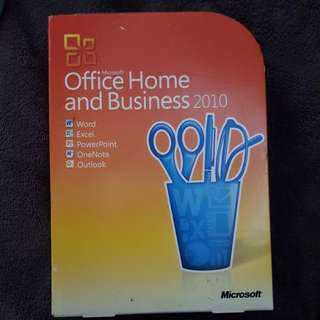 Microsoft home and business 2010