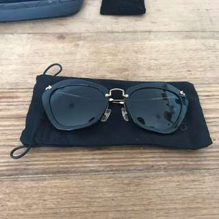 Miu Miu Black Sunglasses
